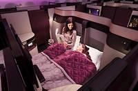 Qatar Airways offre un lit double en classe affaires. Une première !