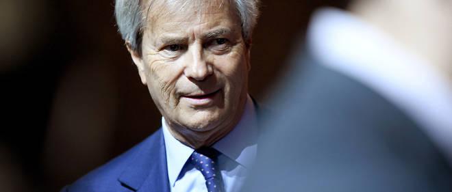 Vincent Bolloré lors de l'assemblée générale du groupe Vivendi le 19 avril dernier lors de laquelle il a cédé sa place de président du conseil de surveillance à son fils Yannick Bolloré.
