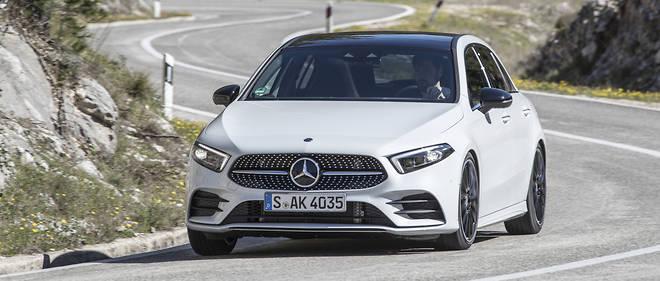 La Mercedes Classe A 180d, animée par un moteur diesel développé sur une base d'origine Renault, émet elle aussi beaucoup moins d'oxydes d'azote que ce que la norme actuelle autorise.