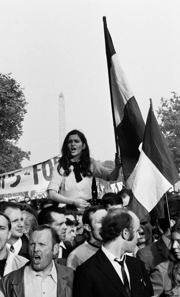 30 mai 68 : manifestation gaulliste ©  SIPAHIOGLU/SIPA
