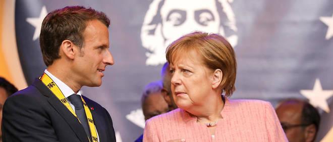 Emmanuel Macron a critiqué jeudi les atermoiements d'Angela Merkel sur les réformes en Europe