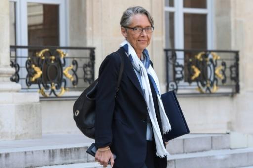 La ministre des Transports Elisabeth Borne, à la sortie du Palais de l'Elysée, à Paris, le 09 mai 2018 © CHRISTOPHE ARCHAMBAULT  AFP/Archives