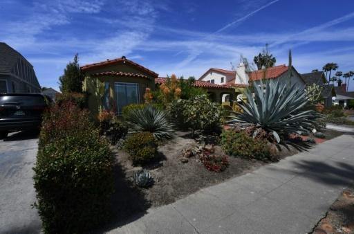 La maison de Doria Ragland, la mère de Meghan Markle, à View Park, à Los Angeles, en Californie, le 08 mai 2018 © Mark RALSTON AFP