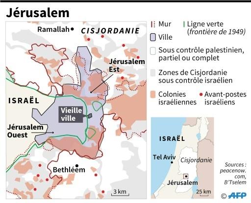 Jérusalem © AFP AFP