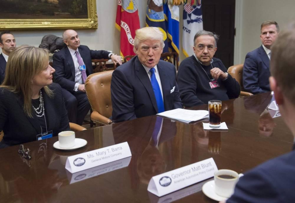 Trump veut relancer l'automobile américaine © SAUL LOEB SAUL LOEB / AFP / DR