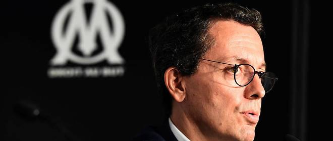 Jacques-Henri Eyraud préside l'OM depuis septembre 2016.