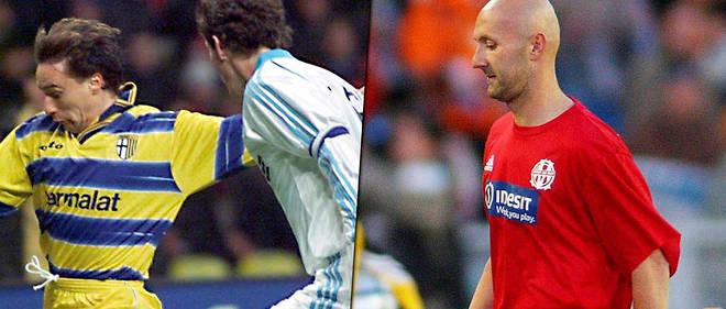 72a1c65ca0d Laurent Blanc et Fabien Barthez ont joué ensemble pour les Bleus mais n