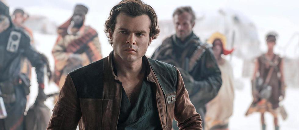 <p>Alden Ehrenreich n'est jamais vraiment tout &#224; fait dans le r&#244;le de Han Solo dans le film Solo-A Star Wars Story. .</p>