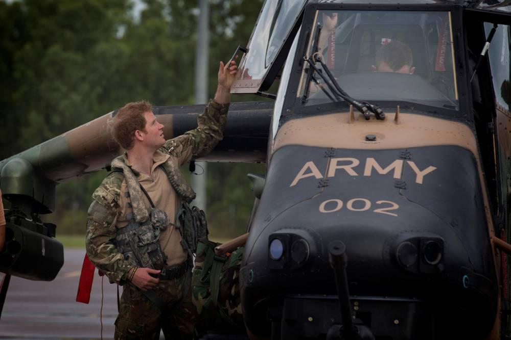 AUSTRALIA-BRITAIN-ROYALS-HARRY-ARMY ©  CPL OLIVER CARTER / AUSTRALIAN DEFENCE / AFP