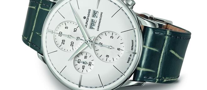 La passion commune de la précision, de la haute performance et de l'esthétique a permis aux horlogers à l'instar de Junghans de tisser des liens avec l'architecture.
