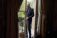 Édouard Philippe.  ©LODIE GRGOIRE POUR  LE POINT