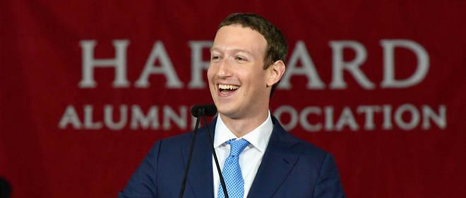 Mark Zuckerberg fait partie des invités d'Emmanuel Macron.