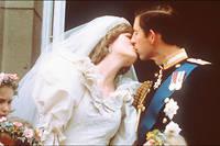 Au balcon de Buckinhgam Palace, lors du mariage de Charles et Diana, le 29 juillet 1981.