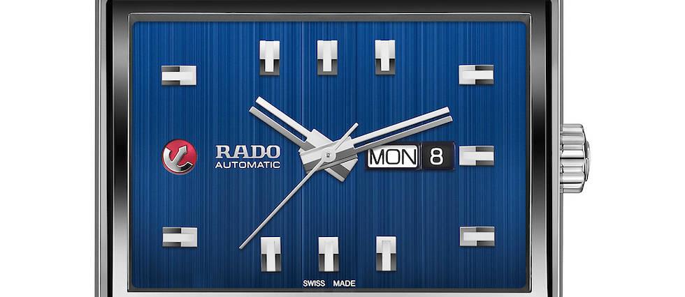 <p>Connue pour avoir fait du design son credo, Rado repense un mod&#232;le inspir&#233; des lignes Art d&#233;co de Manhattan.&#160;</p>