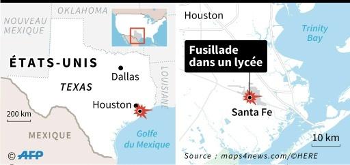 Fusillade au Texas ©  AFP