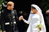 Harry et Meghan se sont mariés.  ©BEN BIRCHALL