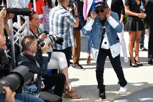 Le réalisateur américain Spike Lee, à Cannes le 15 mai 2018 © Alberto PIZZOLI AFP