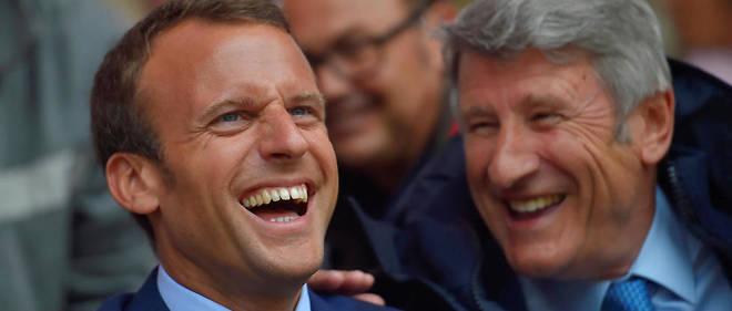 « Jamais depuis mon enfance je n'ai été en relation directe avec un président », se félicite Philippe de Villiers.