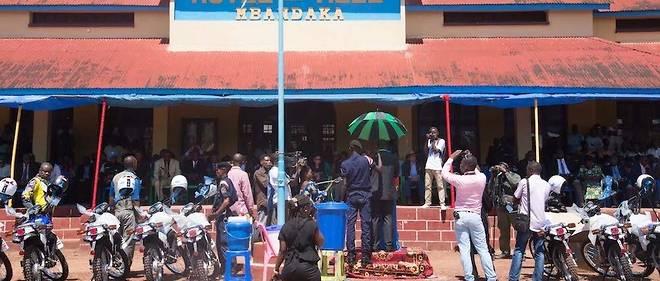 Vaccination ce 21 mai à l'Hôtel de Ville de Mbandaka.