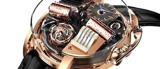Le Parrain sur le cadran d'une montre...