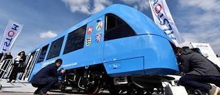 Le Coradia iLint fabriqué par Alstom en Allemagne lors de sa présentation en 2016. Son homologation doit intervenir prochainement et il sera mis en service cet été.