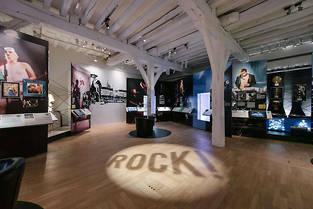 Exposition « Rock ! Une histoire nantaise » au château des ducs de Bretagne (Nantes, Loire-Atlantique).  ©David Gallard