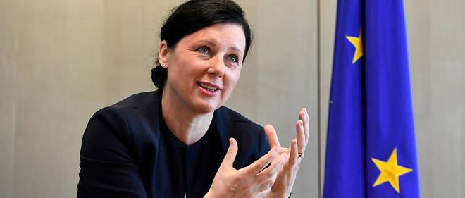 La commissaire européenne Vera Jourová est notamment responsable de la citoyenneté et de la protection des données personnelles.