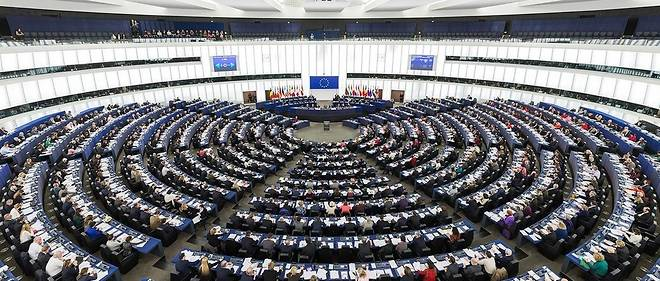 Le Parlement européen le 5 février 2014.