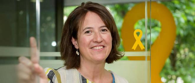 Elisenda Paluzie, présidente de l'Assemblée nationale catalane.