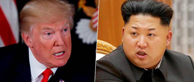 Les deux hommes ont visiblement plaisir à s'insulter : Trump qualifie Kim de « petit homme- fusée ». Lequel réplique en le qualifiant de « gâteux mentalement dérangé ».