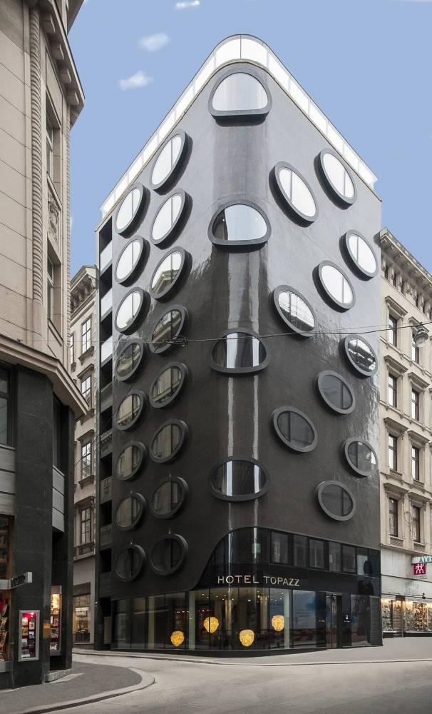 Hotel topazz, vienne, secession viennoise, Koloman Moser ©  DR