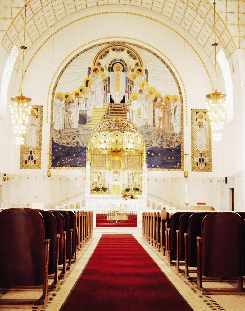Otto Wagner, Vienne, Eglise Saint Lépold ©  DR