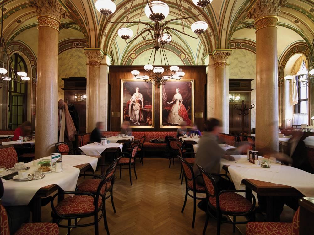 Café Central, vienne, Sécession viennoise ©  DR