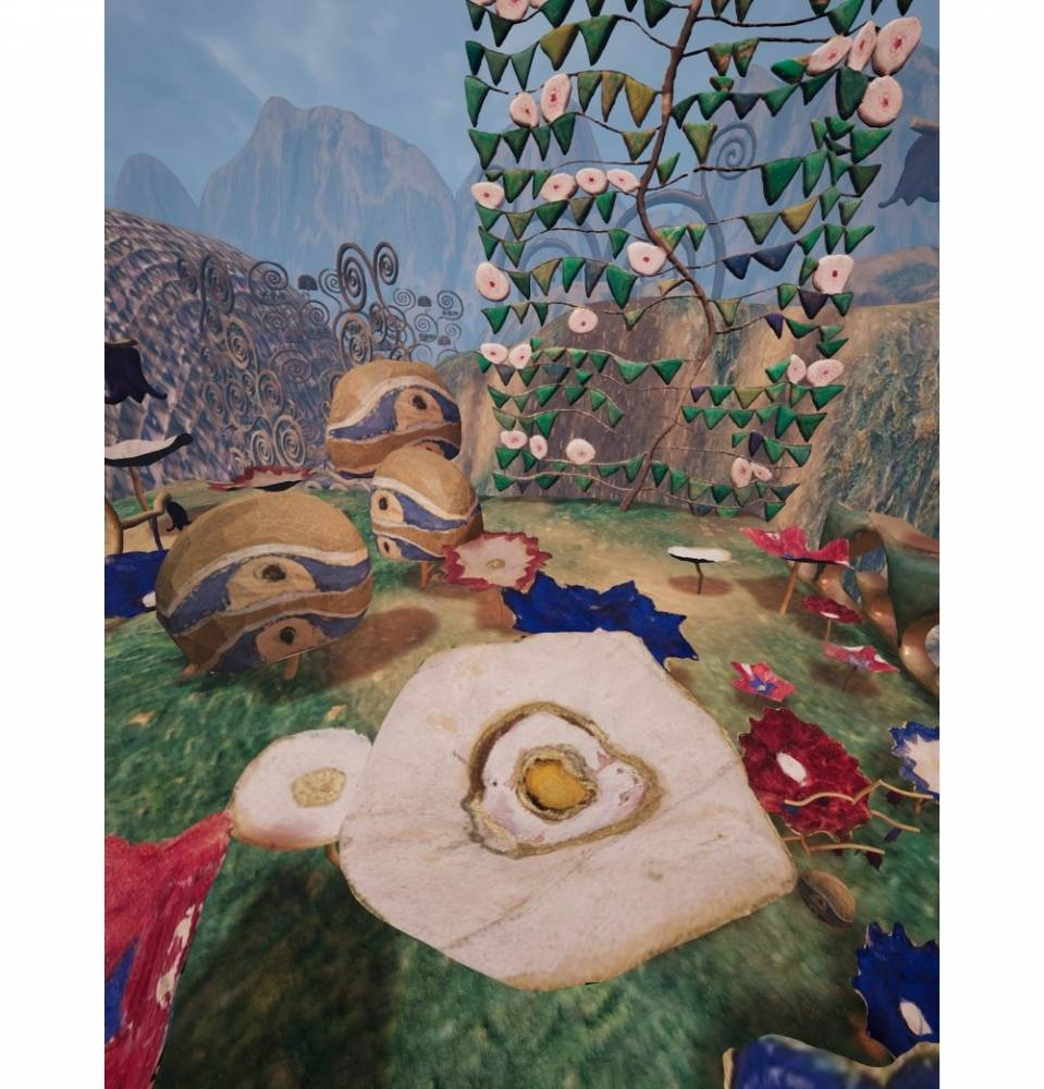 Klimt Magic Garden,  ©  Frederick Baker