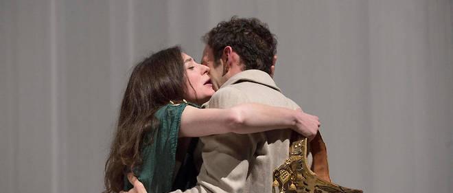«Bérénice» de Racine, mise en scène Célie Pauthe aux Studios Berthier du théâtre de l'Odéon jusqu'au 10 juin.