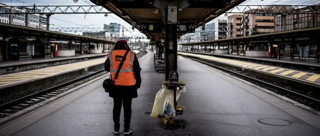 La grève des cheminots contre la réforme de la SNCF dure depuis déjà 2 mois (illustration).