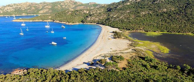 Une plage de Corse-du-Sud (illustration).