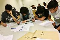 Mis sur pied avec l' association Animath, le concours a rassemblé initialement 50000 collégiens et lycéens.