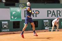 Le Français Benoît Paire n'a pas tremblé pour son entrée en lice à Roland-Garros, tout comme son compatriote Gilles Simon ou encore Pauline Parmentier.  ©Pierre Charlier