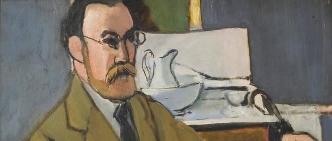 L'exposition met en lumière la relation du peintre à son modèle. Relation étroite pour Henri Matisse. «Autoportrait», 1918.