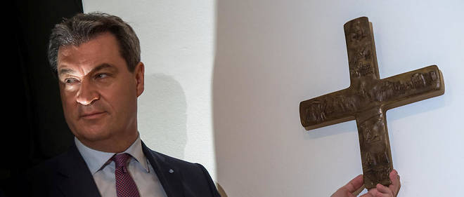 Markus Söder, le ministre président (CSU) de la Bavière.