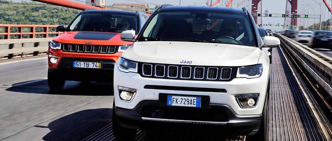 Jeep devrait représenter à lui seul près de 70 % des profits de FCA cette année, selon Morgan Stanley