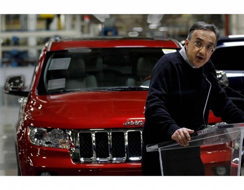 Marchionne et Jeep, c'est devenu une histoire d'amour qui fait bondir les résultats ©  DR