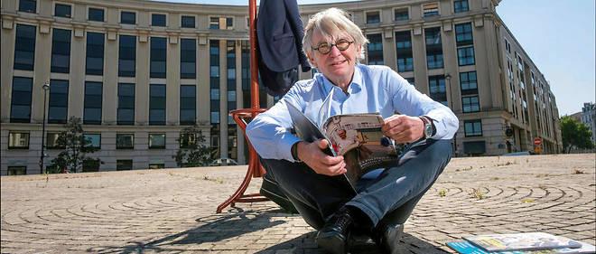Et après. Jean-Claude Mailly place de Catalogne, à Paris, le 18mai. Son projet? Lancer son activité dans le domaine de la responsabilité sociale et environnementale.