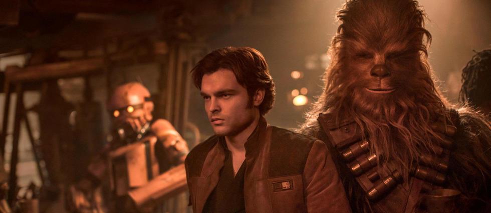 <p>Solo : A Star Wars Story, actuellement en salle.</p>