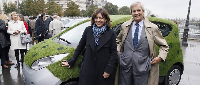 Autolib', une voiture verte peut-être, mais ses comptes ont viré au rouge depuis trois ans