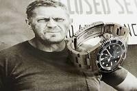 La Rolex Submariner de Steve McQueen, sauvée des flammes.