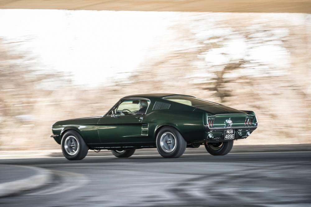 La Mustang Bullitt 1968 de Steve McQueen, une legende qui nourrit des vocations © Charlie Magee Charlie Magee / Ford