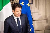 Giuseppe Conte a déjà reçu la confiance des sénateurs italiens.  ©Alessandro Serrano'/AGF/SIPA