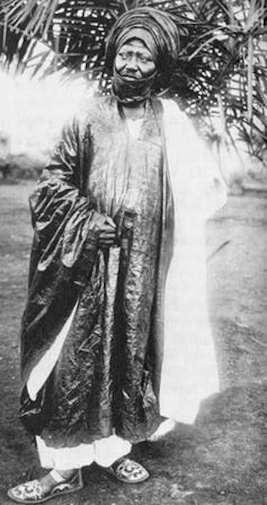 Le sultan Ibrahim Njoya.   ©  Wikipédia